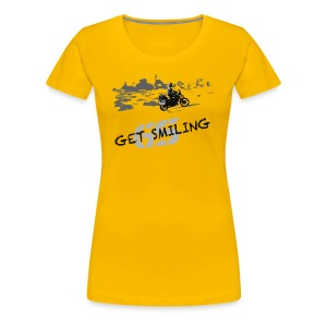 get smiling - Shirt LADIES ONLY - Frauen Premium T-Shirt