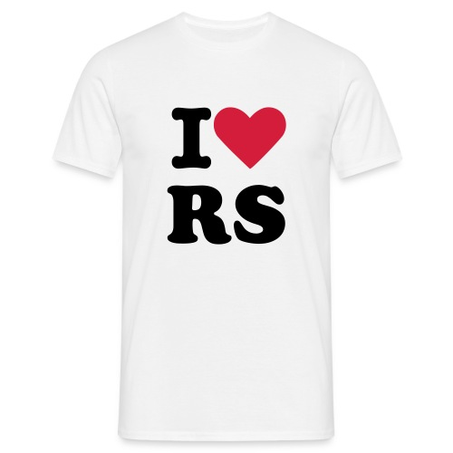 I Love RS - Men's T-Shirt