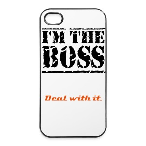 I'm the boss - iPhone 4/4s Hard Case