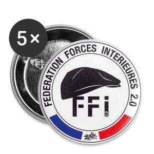 BADGES ffi béret - Badge moyen 32 mm