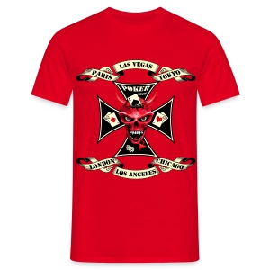 The Devil from Vegas (Red) - Männer T-Shirt