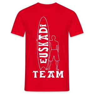 Euskadi surfing team - Men's T-Shirt