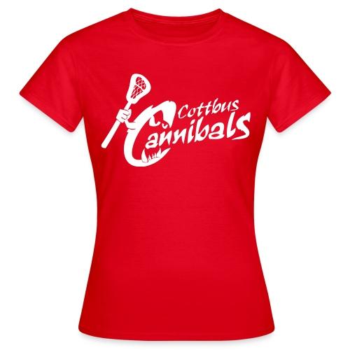 Cottbus Cannibals *girly* - Frauen T-Shirt