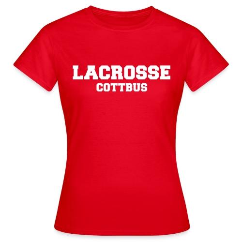 Lacrosse Cottbus *girly* - Frauen T-Shirt