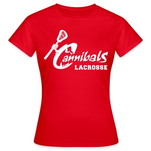 Cannibals Lacrosse *girly* - Frauen T-Shirt