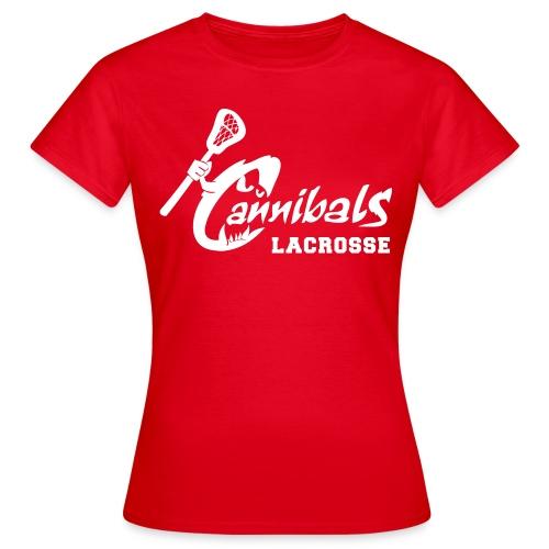 Cannibals Lacrosse *girly* - Frauen T-Shirt