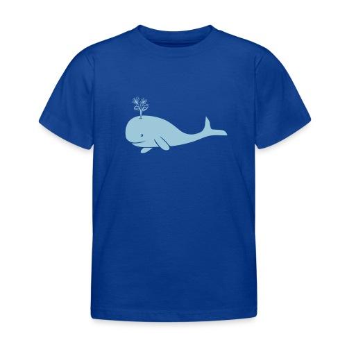 tier t-shirt wal whale delphin walfisch blauwal hai blume T-Shirts - Kinder T-Shirt