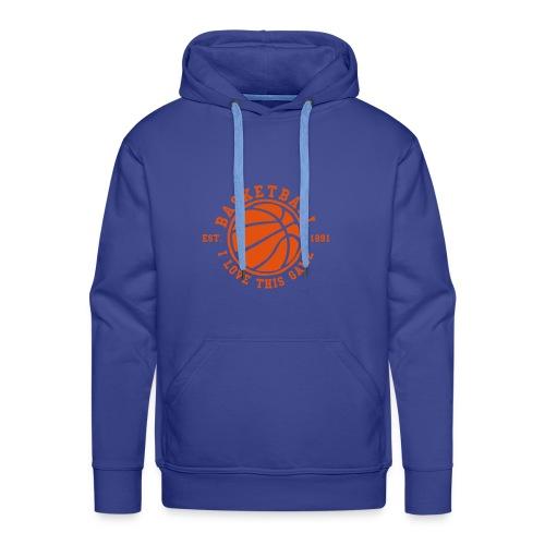 Basketball Kapuzenpullover - Männer Premium Hoodie