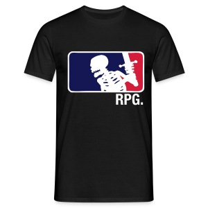 Black RPG T-shirt - T-skjorte for menn