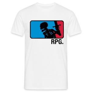White RPG T-shirt - T-skjorte for menn