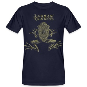 Larman Clamor Frogs (navy) - Men's Organic T-shirt