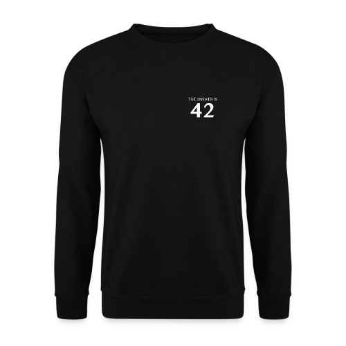 Answer is 42 Men's Sweatshirt - Men's Sweatshirt