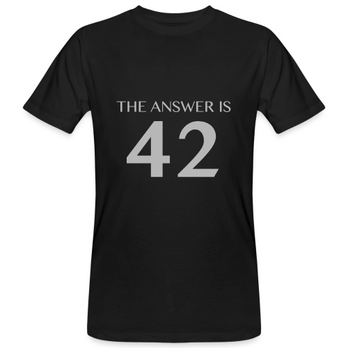 Answer is 42 Men's Organic T-shirt - Men's Organic T-shirt