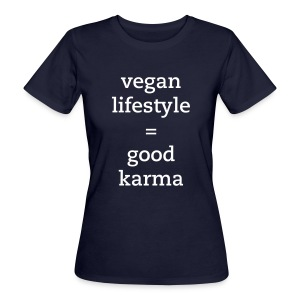 good karma - T-shirt ecologica da donna