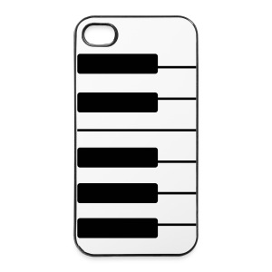 coque piano iphone instrument protextion clavier - Coque rigide iPhone 4/4s