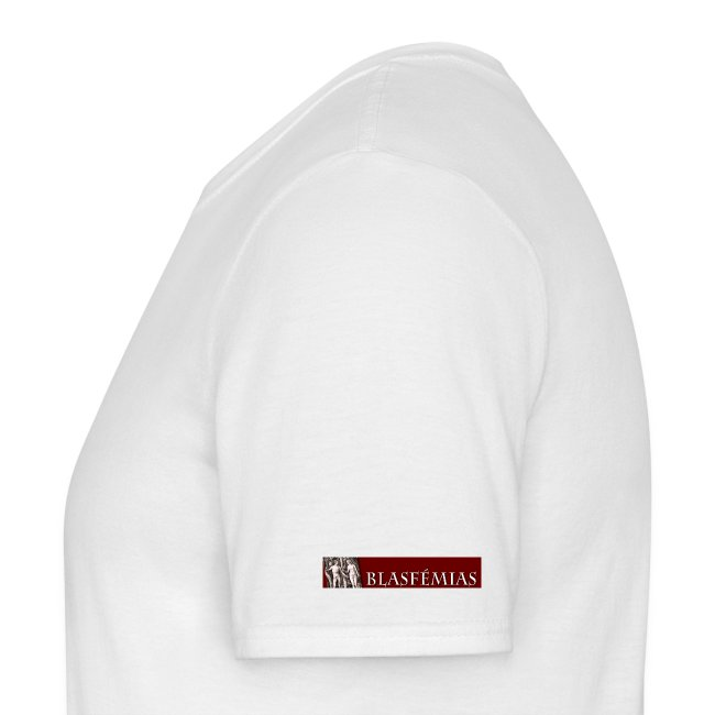 Blasfémias T-Shirt Masculino