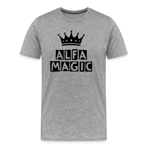 ALFA MAGIC OFFICIAL TSHIRT - Men's Premium T-Shirt