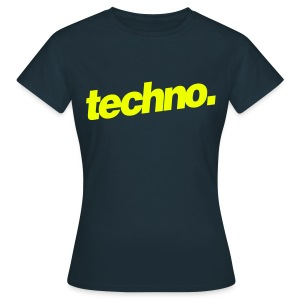 Girl Shirt techno. #4 - Frauen T-Shirt