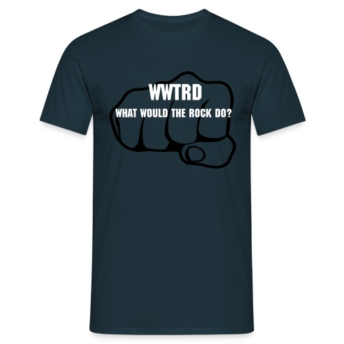 What Would The Rock Do? - Men's T-Shirt