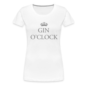 gin o'clock - Women's Premium T-Shirt