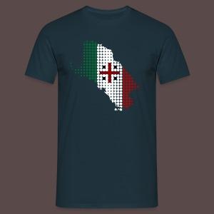 Sardegna, Tricolore Sardo (uomo) - Maglietta da uomo