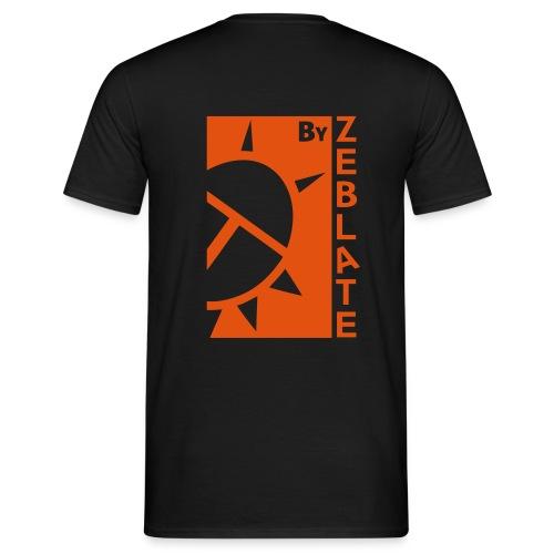 By ZeBlate Noir - T-shirt Homme