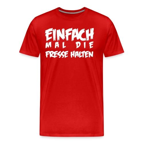 Einfach-TSHIRT-MEN-RED - Männer Premium T-Shirt
