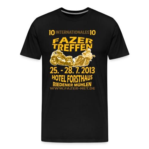 Men's X-Large Jubilee Style bl/y  - Männer Premium T-Shirt