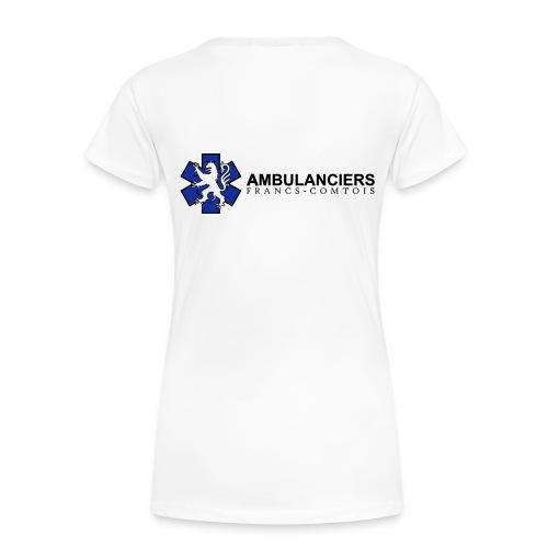Ambulancières Francs Comtoises - T-shirt Premium Femme