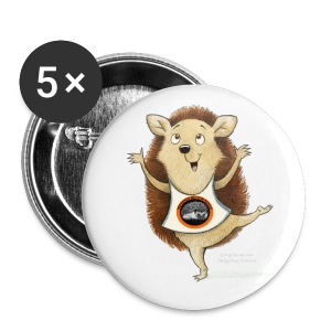 Happity Badge Pk of 5 - Buttons medium 32 mm