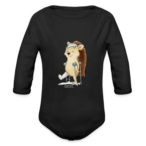 Hoppity Romper - Organic Longsleeve Baby Bodysuit