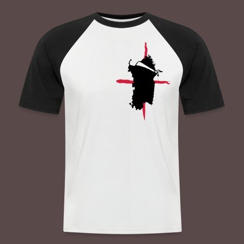 Sardegna Bendata T-shirt - Maglia da baseball a manica corta da uomo