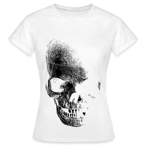 Women Skull White - Women's T-Shirt