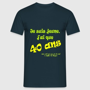 40ans Tee shirts - T-shirt Homme
