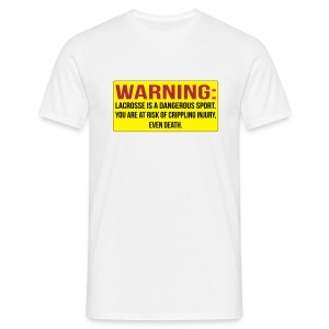 Warning 2 - Männer T-Shirt