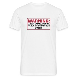 Warning - Männer T-Shirt