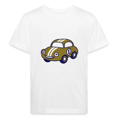 Retro-auto teeppari - Lasten luonnonmukainen t-paita