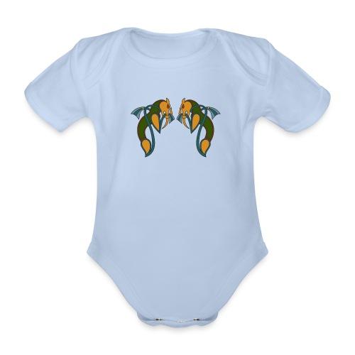celtic dragons bébé - Body bébé bio manches courtes