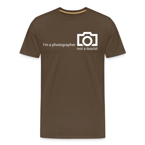 I'm a photographer MAN - Männer Premium T-Shirt