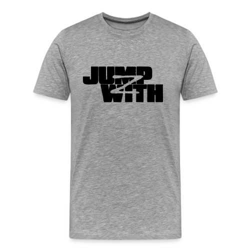 Jump With Z standard - Premium-T-shirt herr