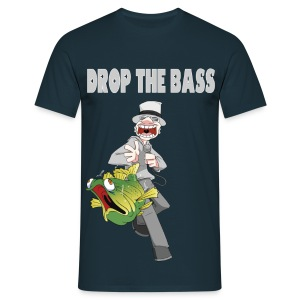 Drop the Bass - Men's T-Shirt