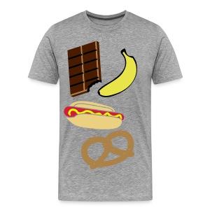 Food Excluded Mens T-Shirt - Men's Premium T-Shirt