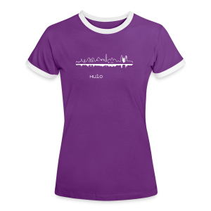Capital Madrid Mädchen by Kulo - Women's Ringer T-Shirt