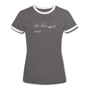 Capital Berlin Mädchen by Kulo - Women's Ringer T-Shirt