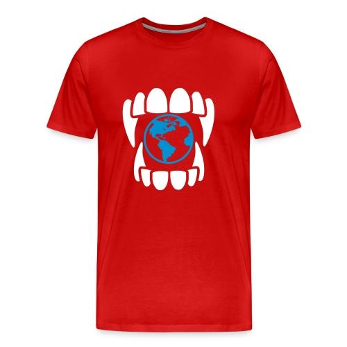 Eat the World T-Shirt - Men's Premium T-Shirt