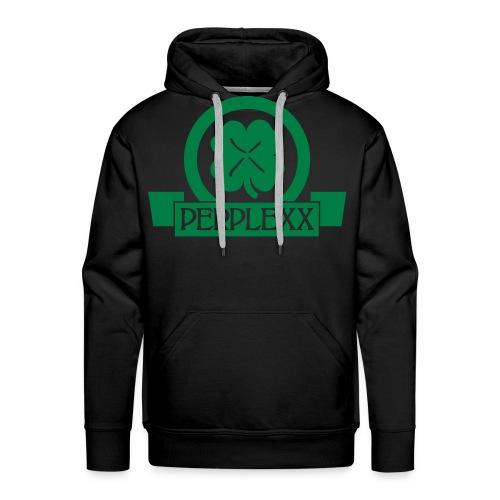 Herren Hoodie  / Grünes Logo - Männer Premium Hoodie