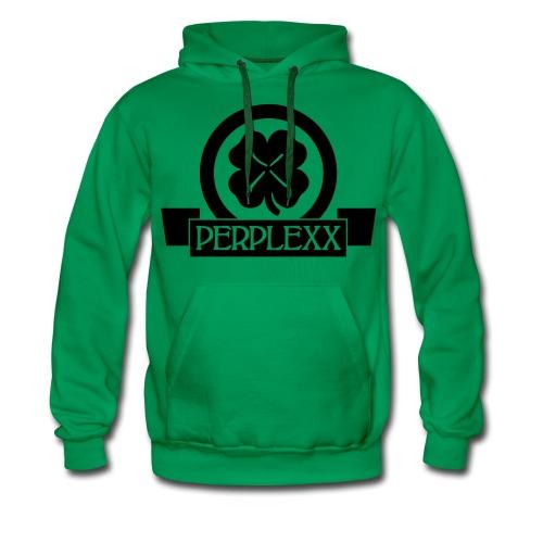 Herren Hoodie  / Schwarzes Logo - Männer Premium Hoodie