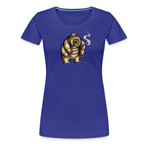 Smokey the Water Bear Ladies Shirt - Women's Premium T-Shirt