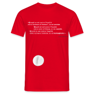 Tee shirts ~ Tee shirt Homme ~ Quand on est…