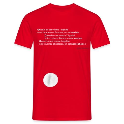 Quand on est… - T-shirt Homme